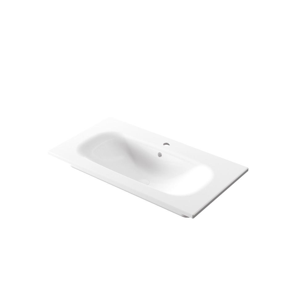 Einbauwaschbecken 86x46x h 16,8 cm Soft