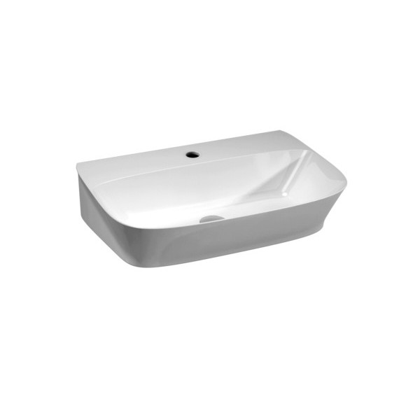 Aufsatzbecken/wandhängend waschbecken cm 65 Prua