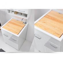 Inner Waschwanne 50x45xH86 mit Waschachse und zwei türen Swash