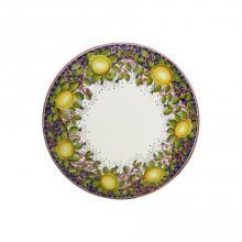 Runde Lavastein-Tischplatte Limoni Toscani